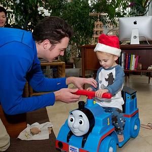 Bobby at Christmas time