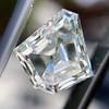 3.16ct Shield Shape Diamond, GIA J VS2 7