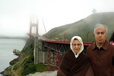 Baba and Maman in CA, 2005