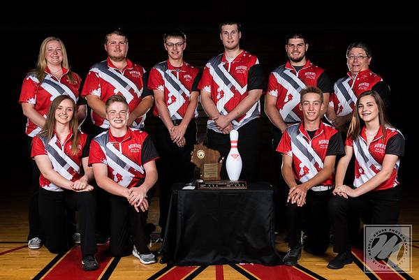 Monroe Bowling Team Portrait