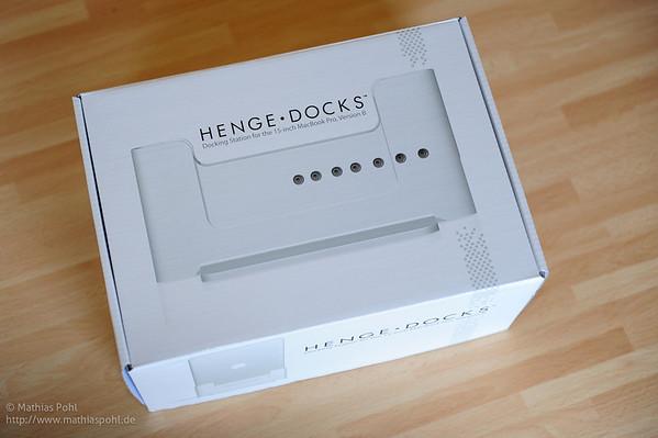 Wenige Tage und knapp 100 EUR später ist sie dann da: Eine Dockingstation für den Macbook Pro.