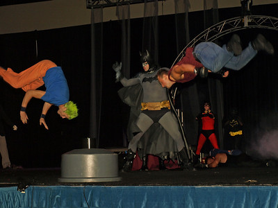 Superhero Stunt Show