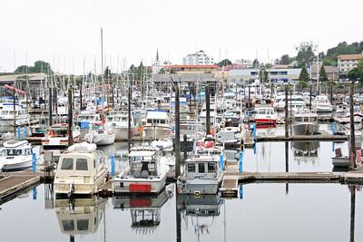 Sitka, Alaska Town and Marina