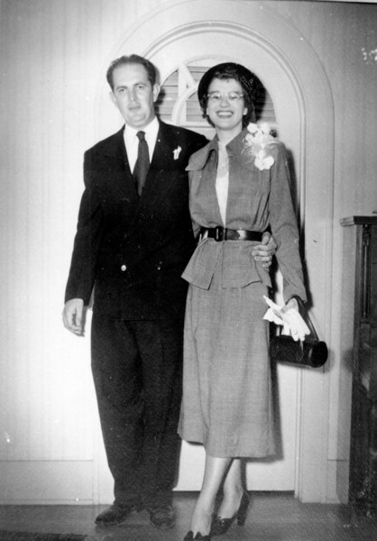 Rip and Maria Walter 'Rip' Smock and Maria Jacob Wedding September 9, 1950