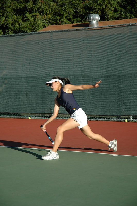 Menlo Girls Tennis 2005 - Player 1
