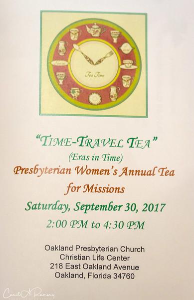 Woman's Tea 2017