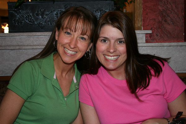 Lori Surprising Rachael for her Birthday - June 10, 2006