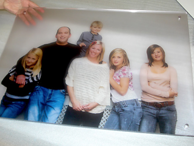 Acrylic Direct Print Semi Transparent