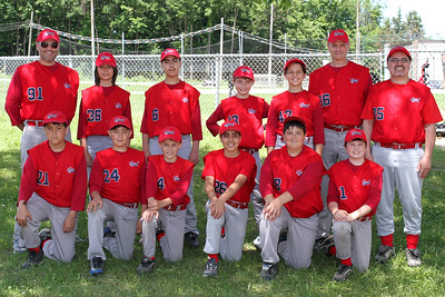 Pee Wee B Red Sox