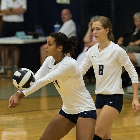 CC Varsity Volleyball vs Clinton Prairie 2015-9-3