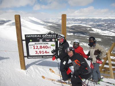 Breckenridge, CO, March 5-12, 2011