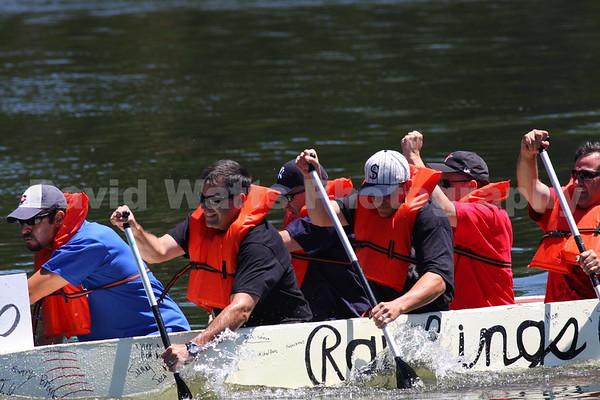Glen Ellyn's 2008 Cardboard Boat Regatta