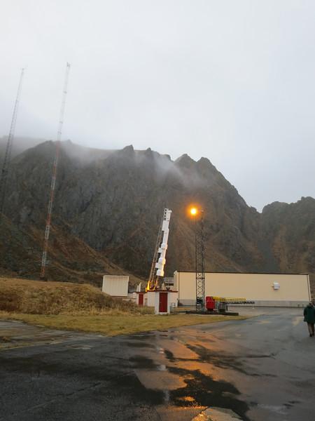 Nov 22: CAPER Rocket at Andoya