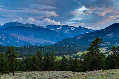 Rocky Mountain National Park Twilight