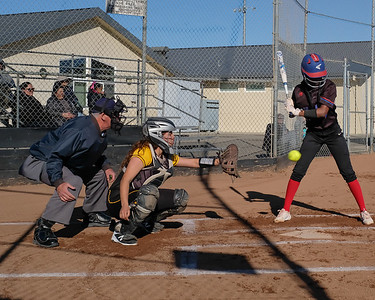 180227 GHS VARSITY SOFTBALL (SAN LEANDRO GAME)