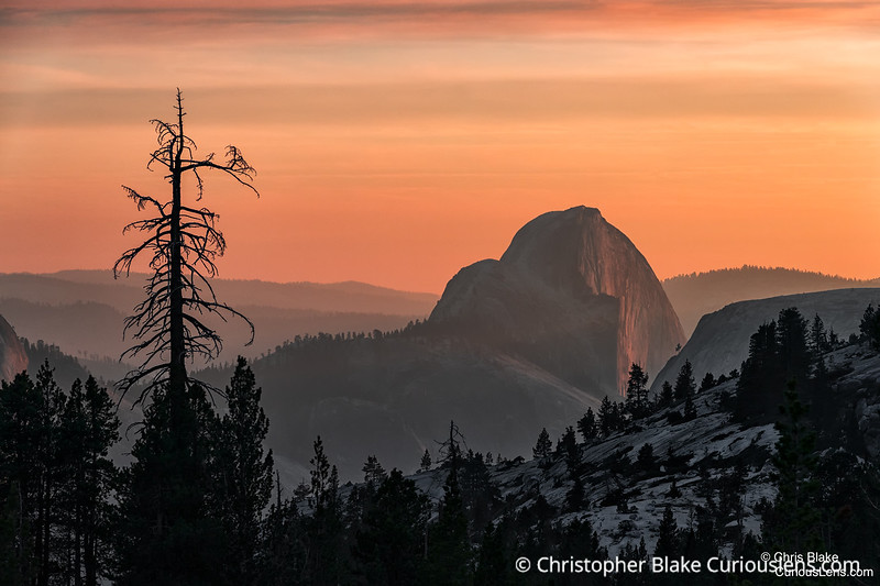 Olmsted Point Sunset