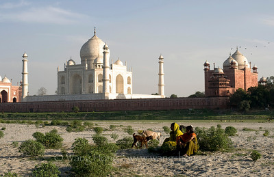 Taj Mahal, Agra, India 泰姬陵 (1983)