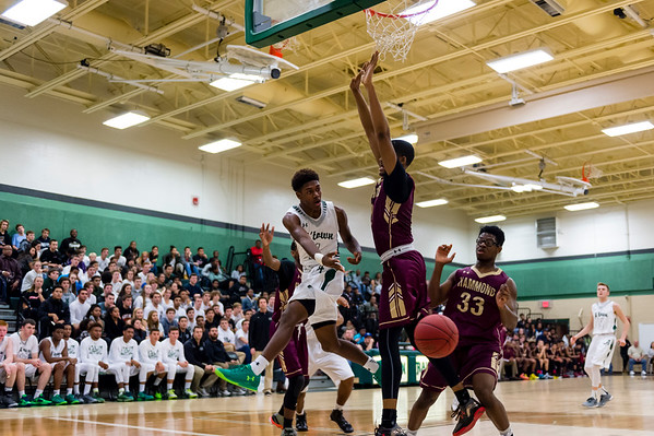 Atholton Varsity Basketball vs Hammond - 12/11/15