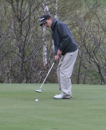 Golf-Essex,BHS,CVU, St Johnsbury @ West Bolton 5/2/08