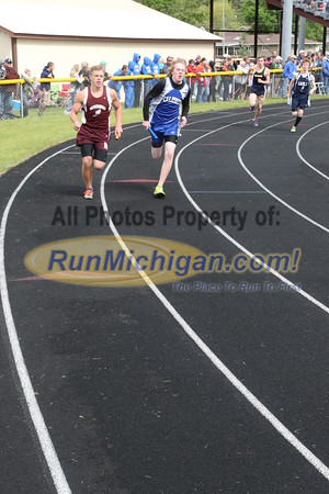 UP Boys' 4x800 Relay - 2015 MHSAA TF Finals
