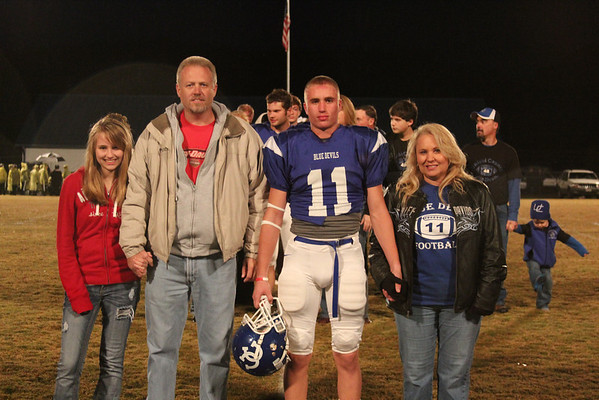 2011 Fall Senior Night