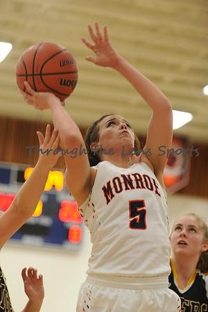Monroe vs. Bandon Girls HS Basketball