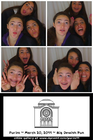 Purim 2011 - Photobooth