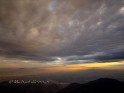 2009/11/12 rim clouds/sunset