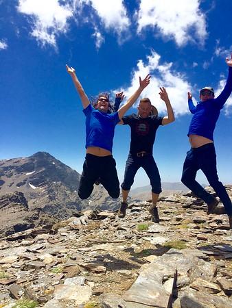 Tres Picos Sierra Nevada July 2016
