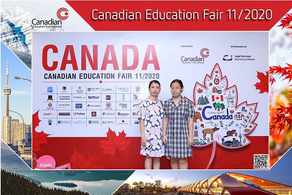 EduCanada | Canadian Education Fair 11/2020 instant print photo booth @ Lotte Hotel Saigon | Chụp hình in ảnh lấy li�n Hội thảo du h�c | Saigon Photobooth