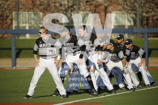 2.15.2016 - UWM Baseball at UIC