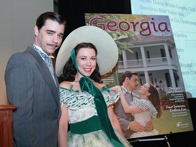 Georgia Department of Economic Development 2014 Georgia Travel Guide Unveil