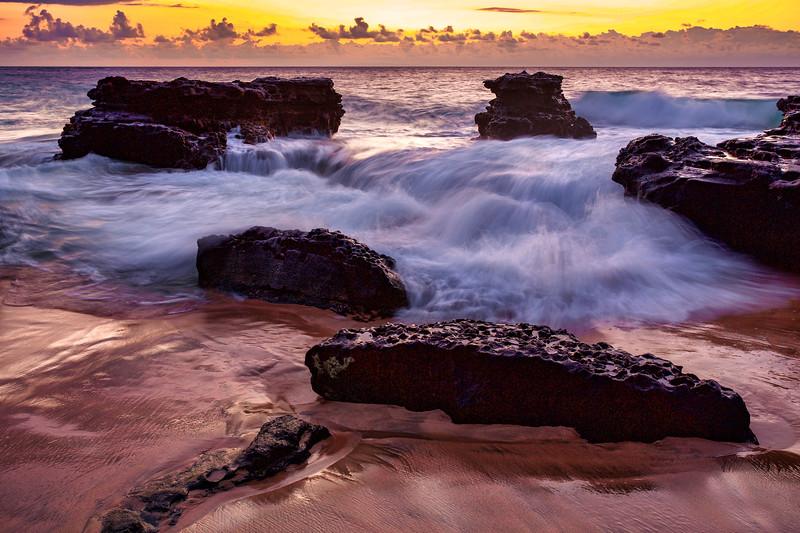 ~Sandy Beach Sunrise~