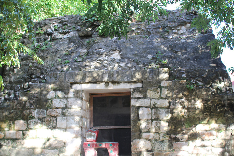 There is very little archaeological evidence of El Cedral because the conquistadors tore down much of the temple (oldest Maya structure on Cozumel).