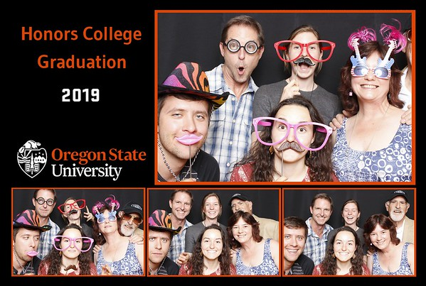 OSU Honors College Graduation 2019