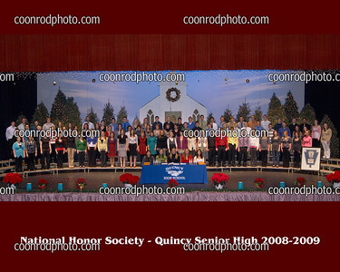 National Honor Society 2008-2009