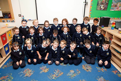 New Primary 1 Class at St Peter's PS Cloughreagh. Pictured is Mrs Morgans class. R1338016