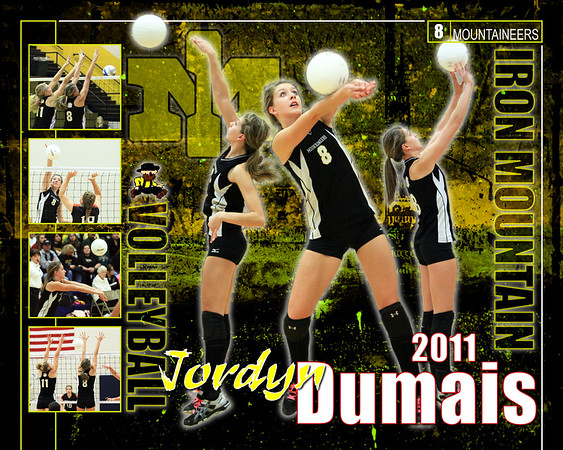 Iron Mountain Mountaineers Athletic Posters 2011-2012