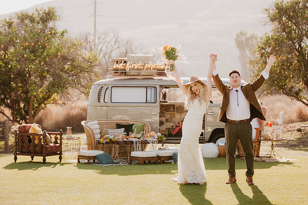 A Stones Throw  Retro Inspired Styled Shoot