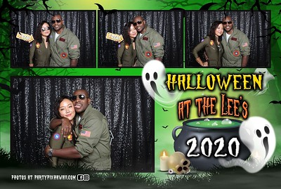 Halloween at the Lee's 2020 (Mini LED Photo Booth)