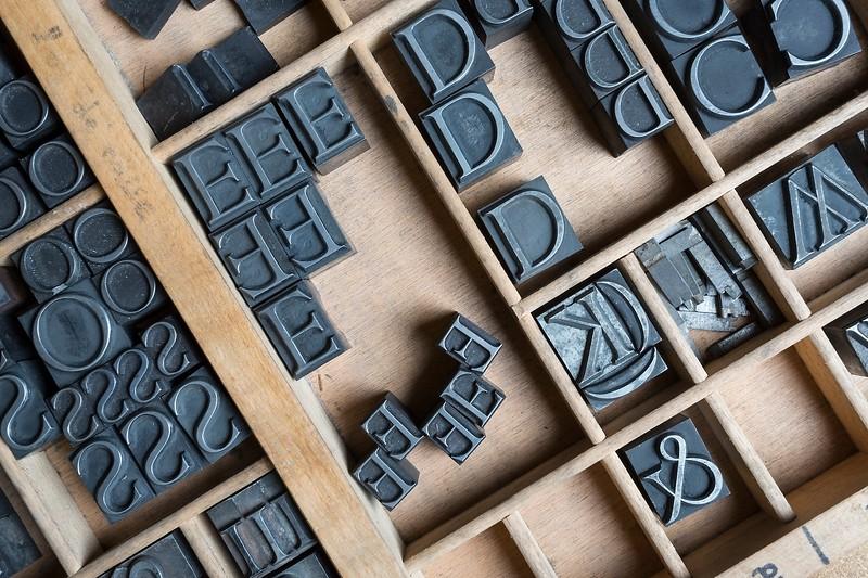 Aldo Manuzio initial letters.