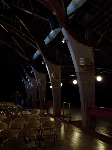 Some views of the interior of the Dancehall Theatre.