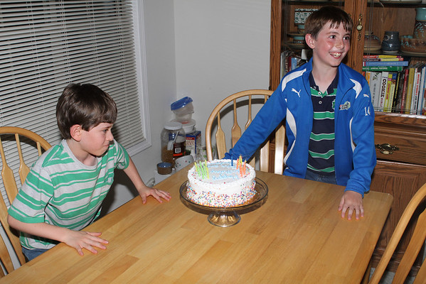 John and Andrew Birthdays 2011