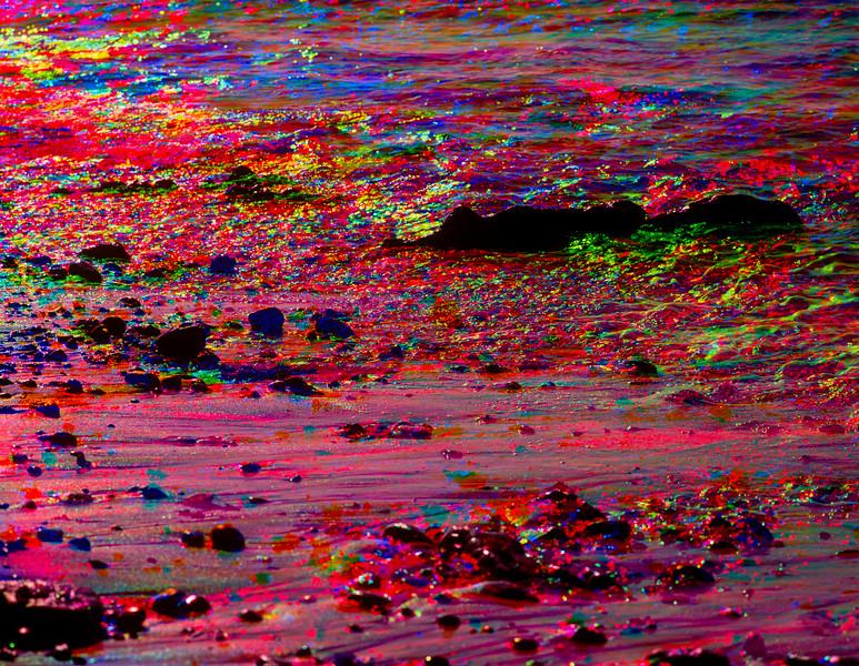 Waves, Fitzgerald Marine Reserve, California, 1991