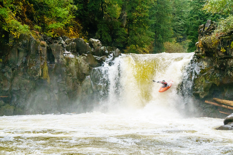 Dennis Lynch on the Callaghan River near Whistler, British Columbia.