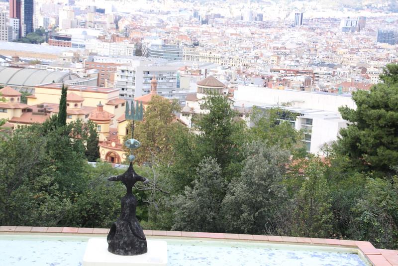 Fundacio Joan Miro roof top