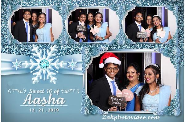 Aasha's Sweet 16