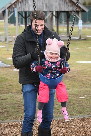 Swings at Dana L. Thompson Memorial Park - 122820
