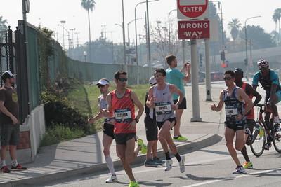 Men at 7 Mile Mark