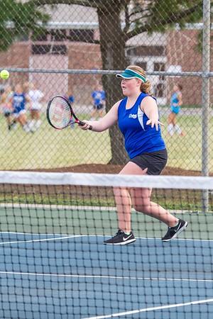DHS Girls Tennis 09-18-2017